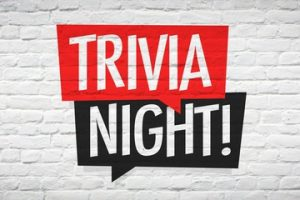 Trivia Night Friday the 20th!