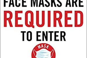 Mask are required to enter the clubhouse.